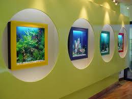 Wall Aquarium by Aquarium Wall Mounted Fish Tank Hf02 Aquarium Design Ideas