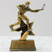 hockey resin trophy european modern decoration great gift