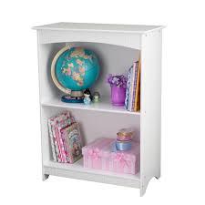 kidkraft nantucket 2 shelf bookcase white toys
