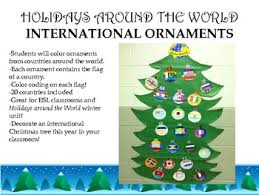holidays around the world ornaments tpt