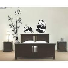bamboo and panda wall sticker wall art decals vinyl wall bamboo and panda wall sticker