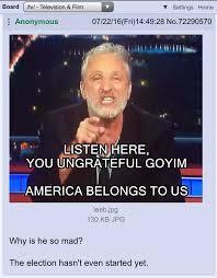 Stewart Mad Tv Meme - listen here you ungrateful goyim happy merchant know your meme
