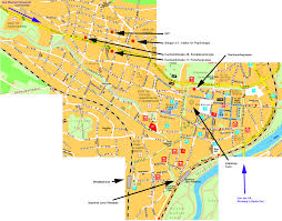 Germany City Map by Map Of Jena And Satellite Images Citiestips Com