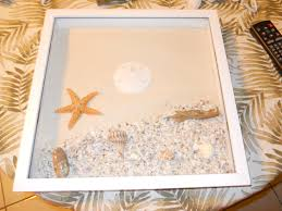 Shadowbox Beach Themed Seashell Shadowbox Seaglass Beach Decor by Beach Shadowboxes Pictures Of The Beach Shadow Box Frames And Box