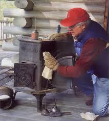 Pot Belly Stove With Glass Door by Old Wood Stoves Making A Comeback Diy Mother Earth News