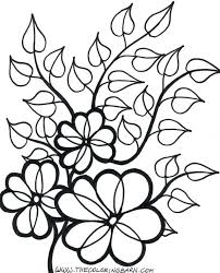 free printable flower colouring sheets flowers bookmarks clipart