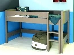 bureau gris blanc lit combine mezzanine lit combine lit multifonction momo gris et
