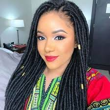 crochet braids hair 18inch synthetic dreadlocks hairstyles crochet hair extensions
