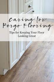 caring for laminate floors pergo