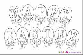 fantastic happy easter coloring pages to print with happy easter