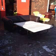 John Lewis Leather Sofas Stunning Original Brown Leather John Lewis Sofa Bed Aherns Furniture