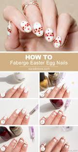 faberge easter egg nail art tutorial 2015 version