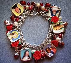 catholic bracelets two crafty mules catholic charm bracelets finally