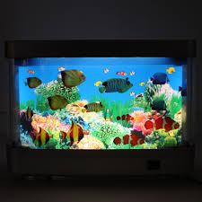 Home Aquarium Decorations Decorative Night Light Fake Fish Aquarium Decorative Night Light