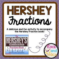 hershey fractions by rock and teach by katie texas tpt