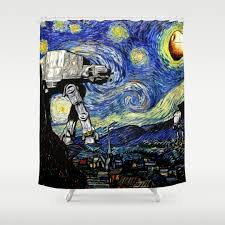 humor illustration and movies tv shower curtains society6