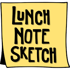 lunch note sketch