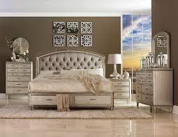 Storage Bedroom Set Homelegance Tandie Button Tufted Upholstered Platform Bed With