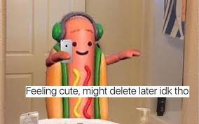 Hot Dog Meme - snapchat s dancing hotdog is a huge giant meme look it s not the