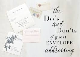 wedding invitation envelopes protocol for addressing wedding invitation envelopes tags