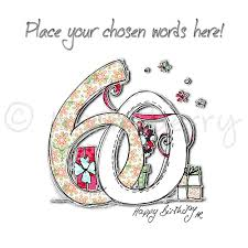 60 Birthday Cards Personalised 60th Birthday Cards 60th Birthday Cards 60th Card