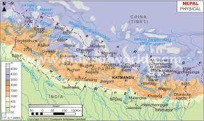 map of nepal and india where is nepal the nepal project