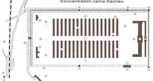 Map Of Concentration Camps Large Map Of Dachau Concentration Camp And Memorial Site