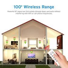 etekcity wireless remote control sockets programmable electrical