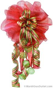 mardi gras outlet deco mesh diy christmas bow bow with deco mesh mardi gras