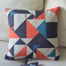 Sofa Throws Ikea by Fantastic Colorful Geometric Ikea Cotton Linen Burlap Decorative