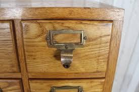 Vintage Oak Filing Cabinet Vintage Retro Solid Oak Filing Cabinet Libraco Index Cabinet