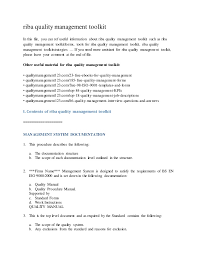 Dump Truck Driver Job Description Resume by Riba Quality Management Toolkit