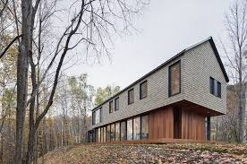 Plank Construction Style J Aaron Kl House Architect Magazine Bourgeois Lechasseur Architects