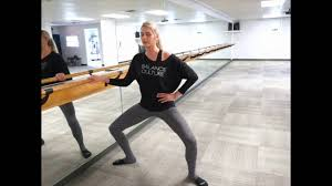 barre tutorial how to pulse in barre youtube