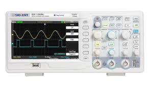 siglent sds1102cml digital storage oscilloscope 100mhz 7 u0027 u0027 tft