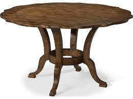 dining tables round bangle walnut top with statuary bronze base