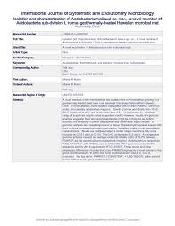 Cover Letter Microbiologist Microbiology Society Journals Isolation And Characterization Of