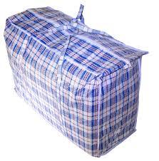 Michigan Travel Laundry Bag images Jumbo plastic checkered storage laundry shopping bags w zipper jpeg