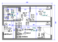 220px architectural wiring diagram minihome svg png