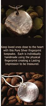 simply cremations fingerprint jewellery simply cremations