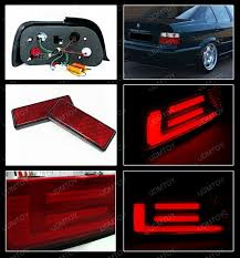 e38 euro tail lights 98 bmw e36 3 series altezza style red clear euro tail lights
