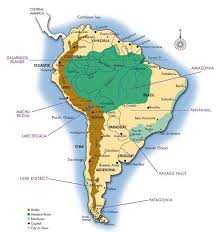 south america map rainforest where is the rainforest located rainforest cruises
