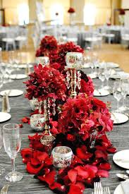 Red And White Centerpieces For Wedding by Best 25 Red Silver Wedding Ideas On Pinterest Black Red Wedding