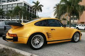 Porsche 911 Yellow - yellow porsche 911 turbo slantnose 10 madwhips
