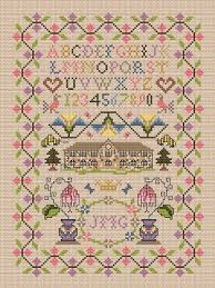 the cross stitch guild stitch from your stash