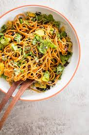 noodle salad recipes southwestern sweet potato noodle salad and avocado pesto dressing
