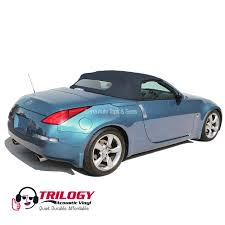 Nissan 350z Blue - nissan 350z convertible top 2004 2009 dark blue with glass window