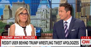Meme Video Creator - video cnn hosts ecstatic about exposing and identifying trump