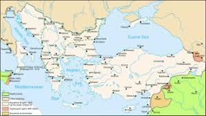 Location Of The Ottoman Empire by Greece Wikipedia