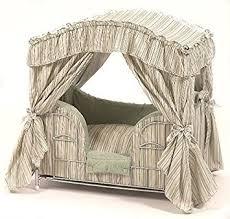 Pet Canopy Bed Maxx Elite Desinger Luxury Canopy Pet Bed Green
